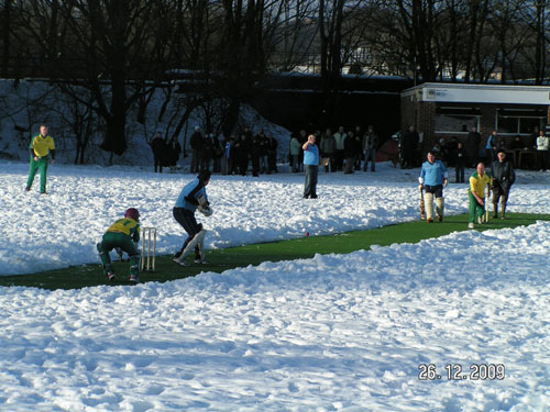 Snow at the Meadows