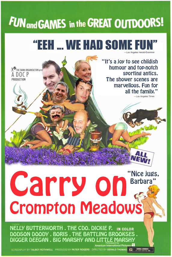 Carry On Cromton Meadows Poster