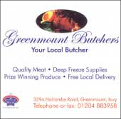 Greenmount Butchers